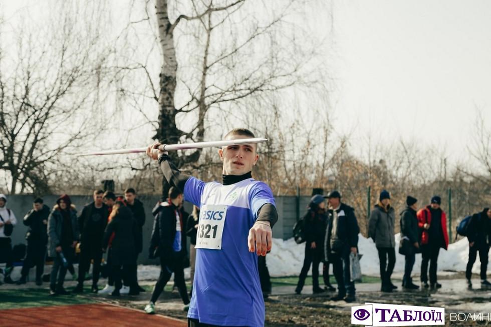 имовий чемпіонат України з легкоатлетичних метань у Луцьку