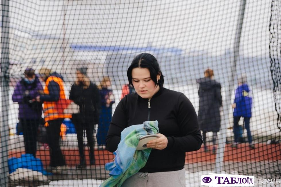 Зимовий чемпіонат України з легкоатлетичних метань