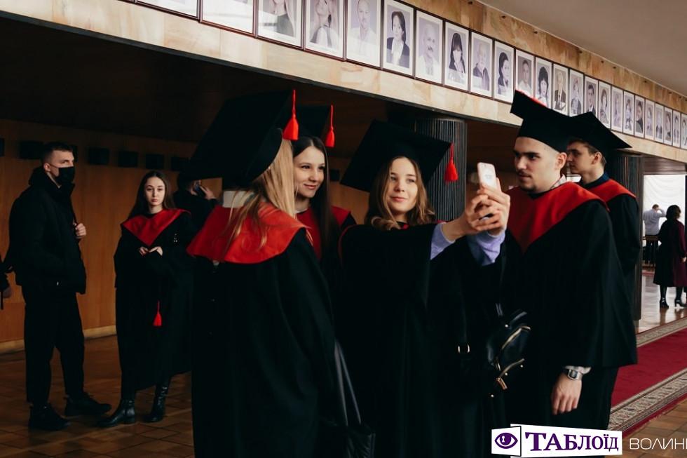 Випуск магістрів у Луцькому НТУ