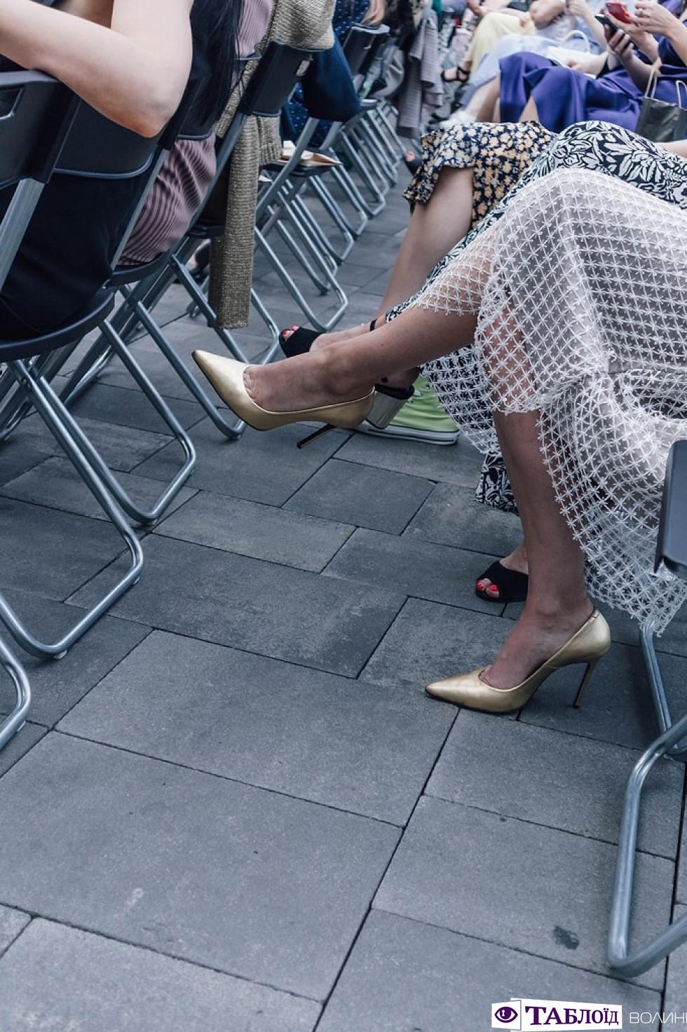 Взуття на Lutsk Fashion Weekend