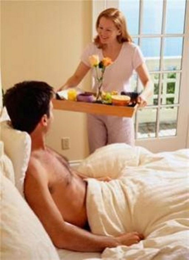 Как сделать мужу хорошо в кровати 925