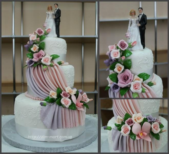 Кондитери випікають короваї та весільні торти на замовлення в українському  та європейському стилі 240503d7d0373